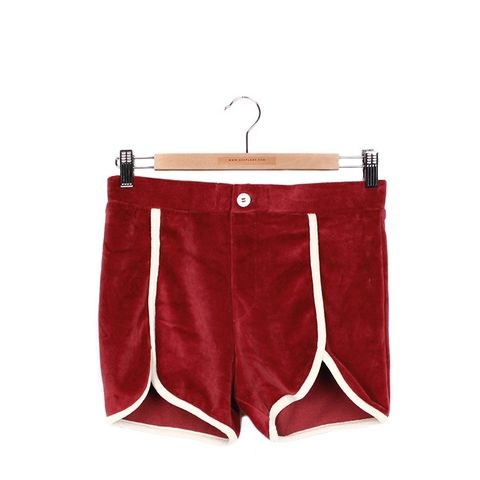 Phys Ed Velour Shorts