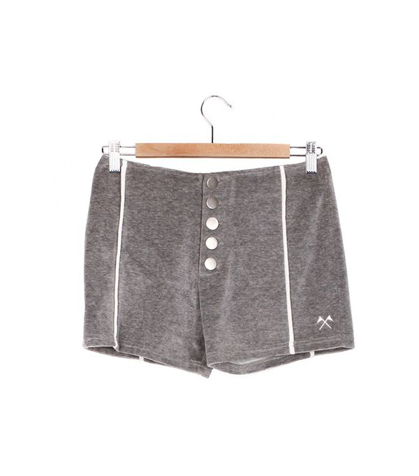CAMP Collection Field Day Velour Shorts