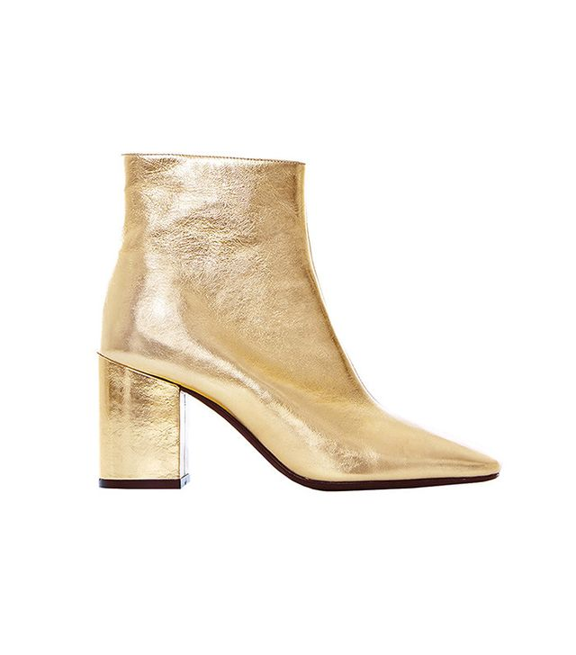 Anine Bing Jane Boots in Gold