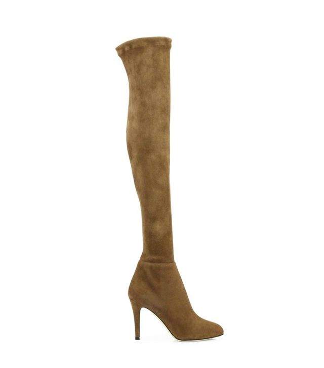 Jimmy Choo Toni Suede Over-the-Knee Boots