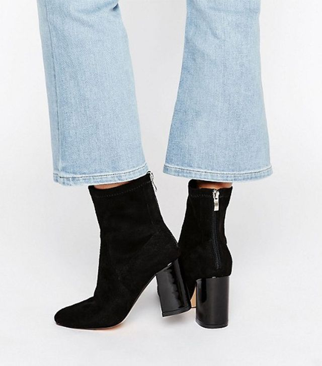 Truffle Unlined High Ankle Boots