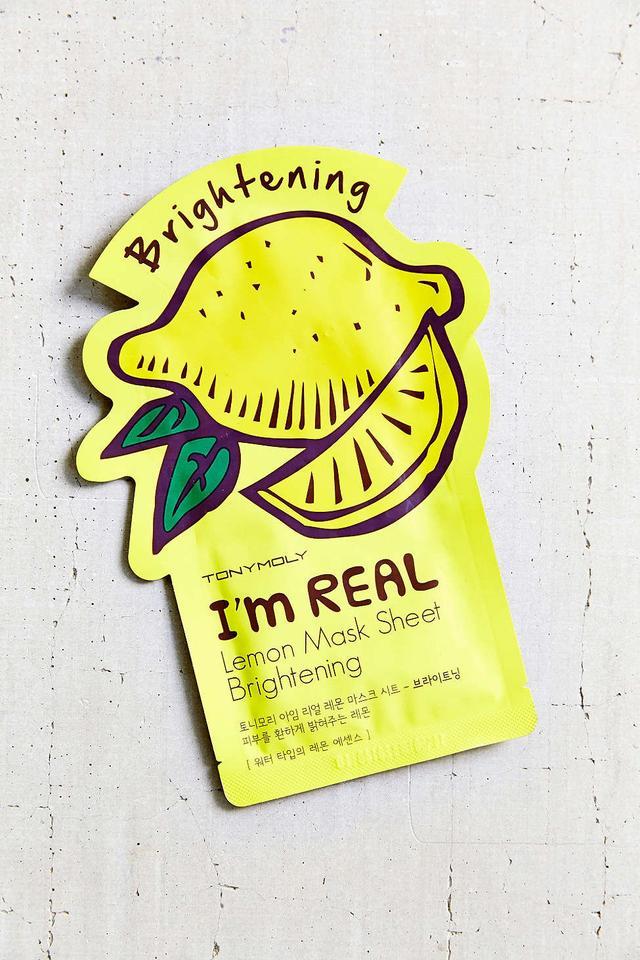 Tony Moly I'm Real Lemon Mask Sheet Brightening