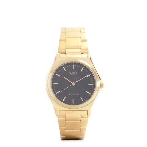Gold Stainless Steel Strap Watch
