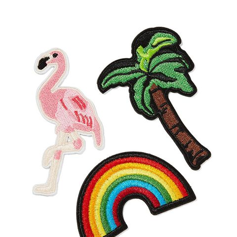 Vacation Forever Embroidered Cotton Patches