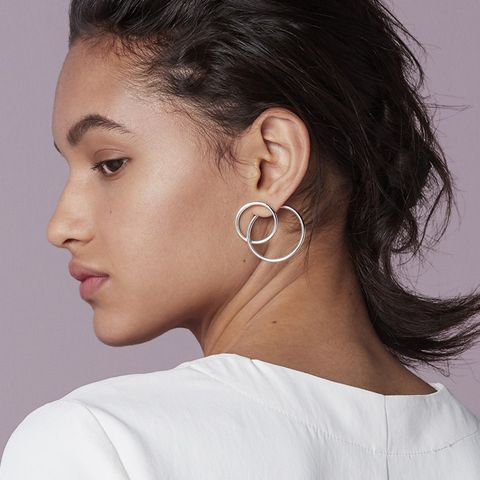 Ossom Double Circle Earrings
