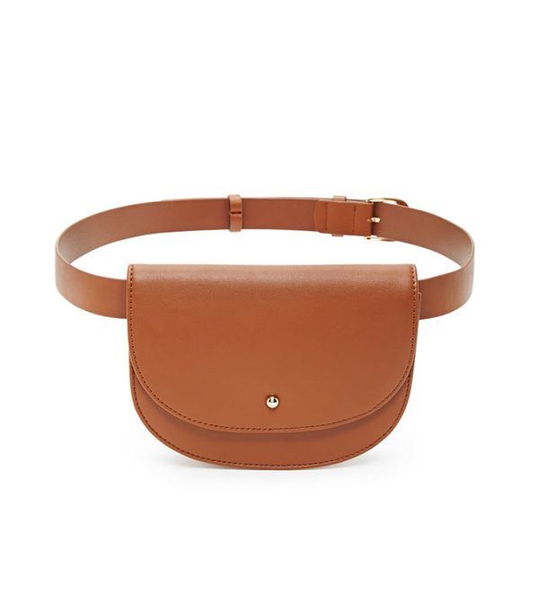 Forever 21 Faux Leather Fanny Pack Belt