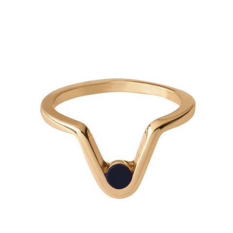 Inset Stone Ring