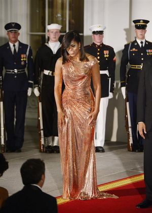 We Can't Stop Talking About This Michelle Obama Outfit