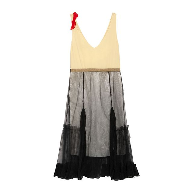 Zara Tulle Sleeveless Dress