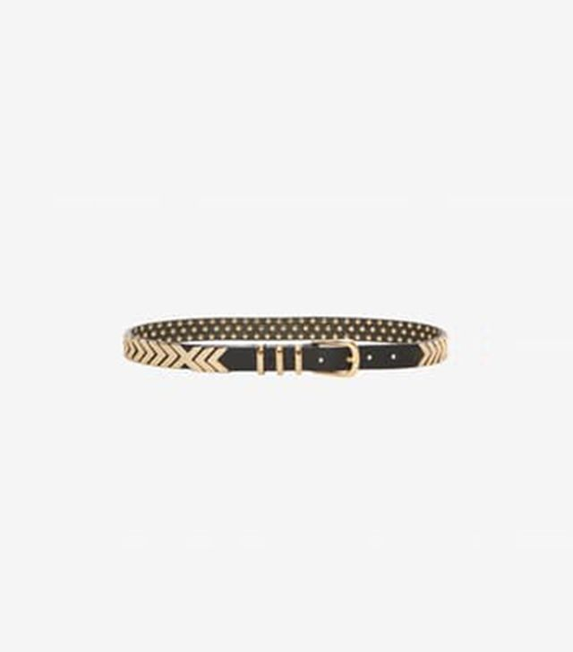 Anine Bing Metal Fishbone Belt