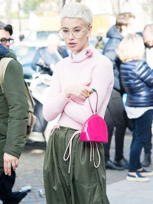 Bloggers Can't Get Enough of These Pink Jumpers