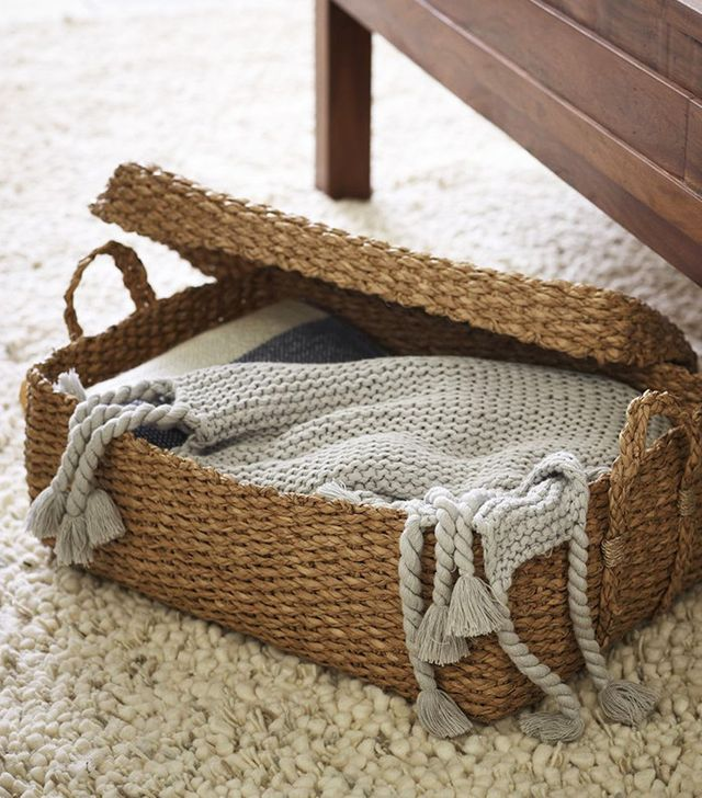 West Elm Braided Storage Bin
