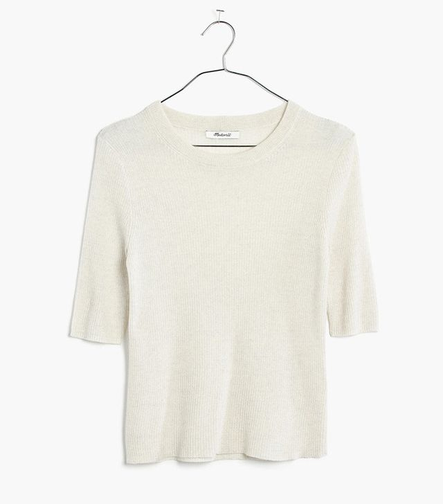 Madewell Ribbed Sweater Top