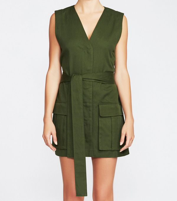 Camilla and Marc Astor Military Dress