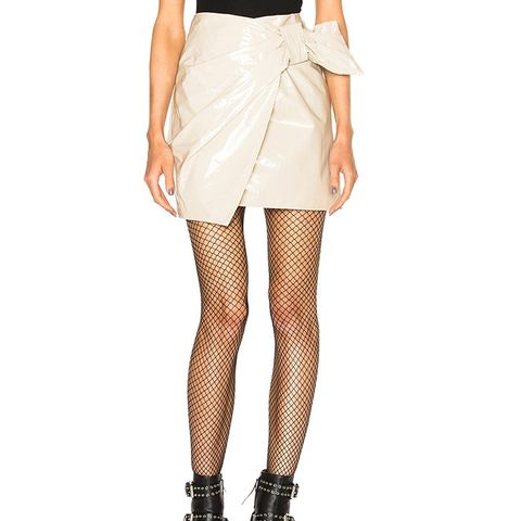 Anders Romy Trench Skirt in Chalk