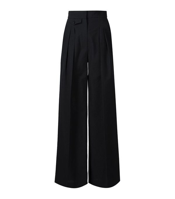 Lemaire Pleated Palazzo Pants