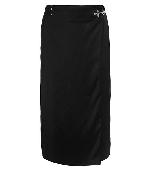 Acne Studios Satin Midi Skirt