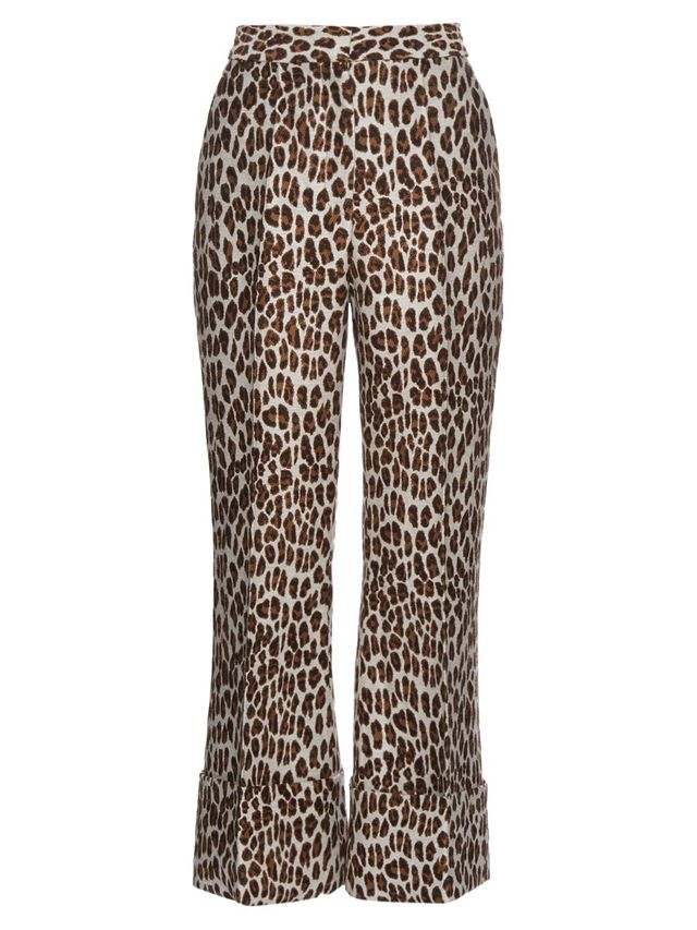 Stella McCartney Leopard-Print Trousers