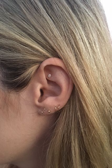 Constellation Piercings Trend Brian Keith Thompson