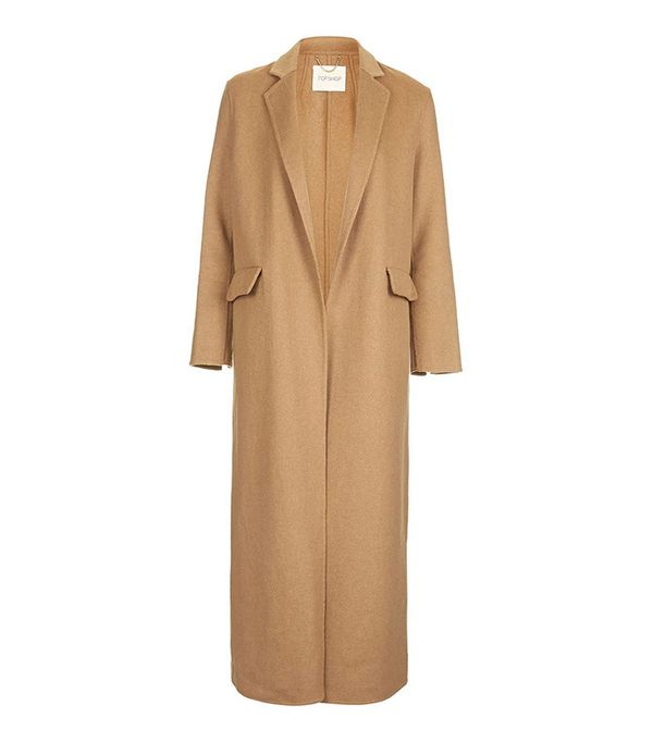 Topshop Wool Slouch Coat
