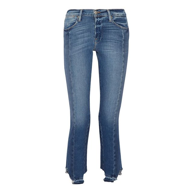 Frame Le Original Mix Straight Leg Jeans