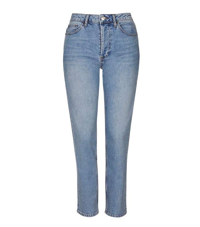 Topshop Straight Leg Jean