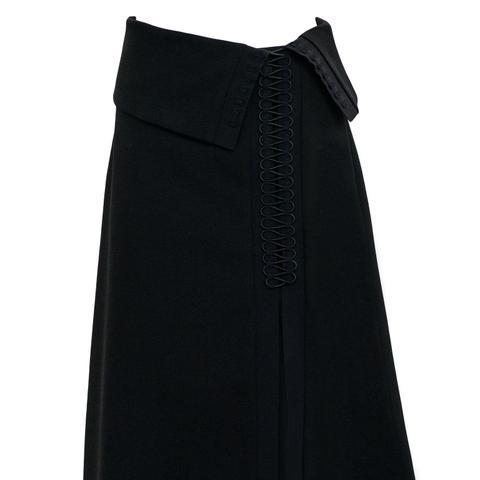 Tailored Coil Skirt