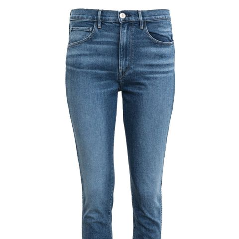 Straight Authentic Cropped Jeans