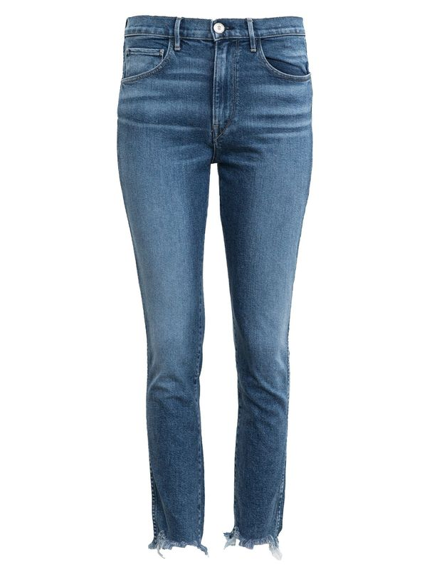 3X1 Straight Authentic Cropped Jeans