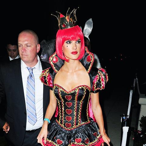 Alessandra Ambrosio Halloween Costume