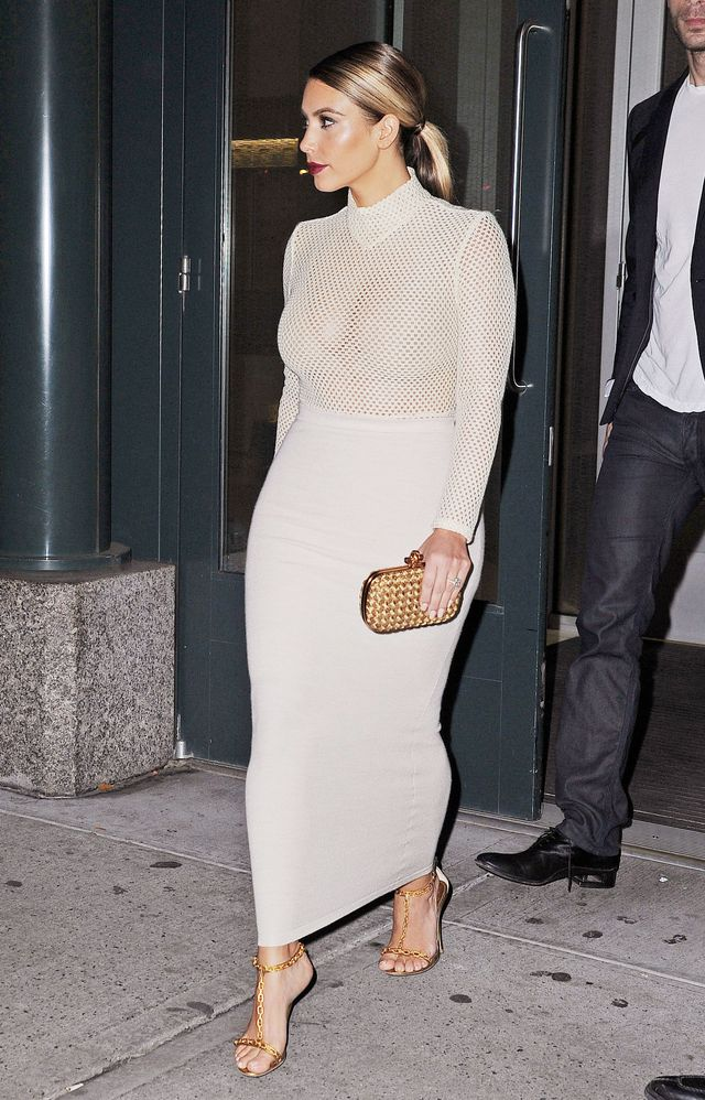 The Different Stages Of Kim Kardashian 39 S Style Evolution Whowhatwear