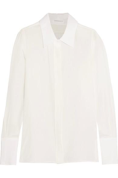Victoria Beckham Washed-Silk Shirt