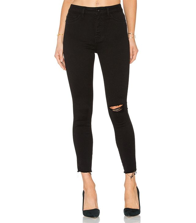 DL1961 x Jessica Alba No. 2 Trimtone Ankle Jeans