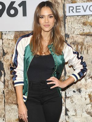 This Is the Latest Celeb to Hop on the Varsity Jacket Trend