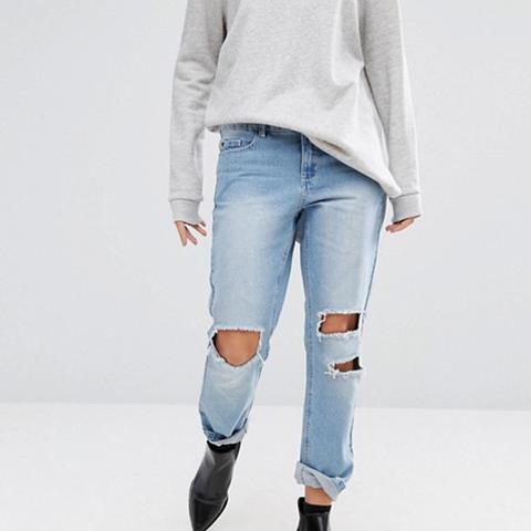 Vero Moda Distressed Mom Jeans