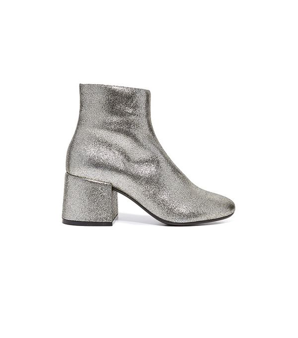 MM6 Metallic Booties