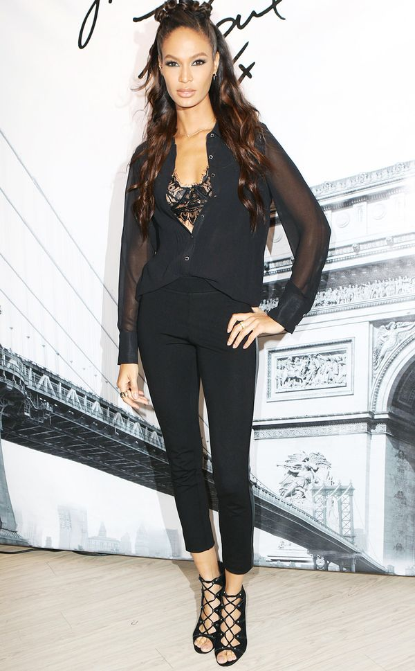 WHO: Joan Smalls WHAT: Karl Lagerfeld Paris x Elle event