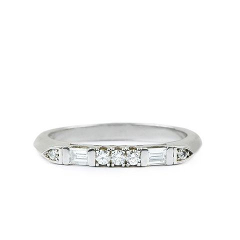 Baguette Mix Diamond Ring