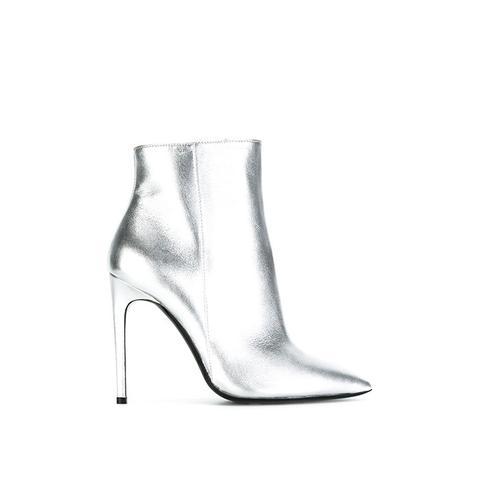 Metallic Stiletto Boots