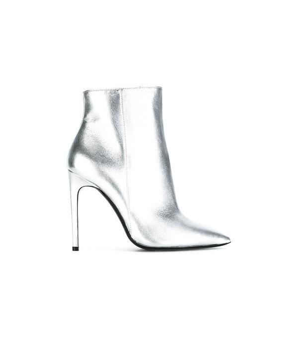 Pollini Metallic Stiletto Boots
