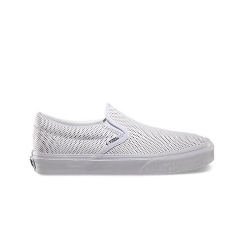 Perf Leather Classic Slip-On Sneaker