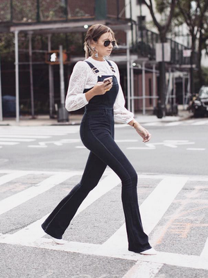 Why This Blogger Wears Overalls Everywhere (Even to Weddings)