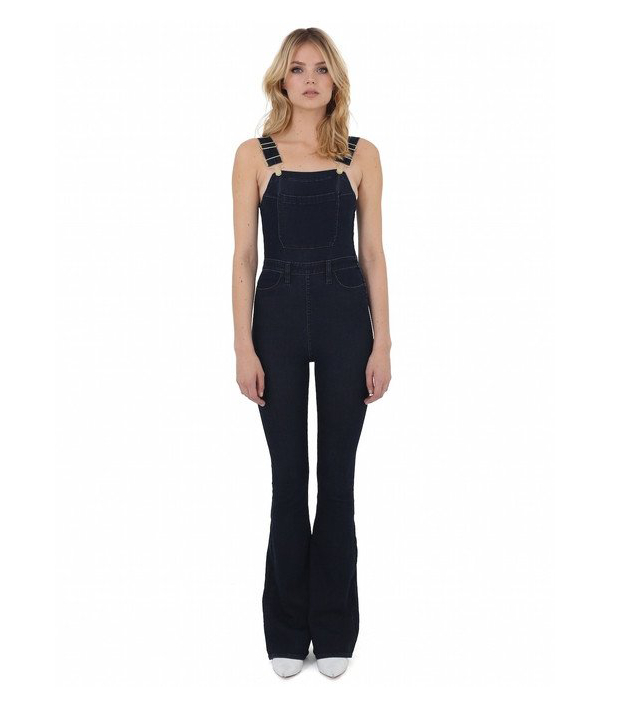 Second Skin Overalls The High Rise Flares