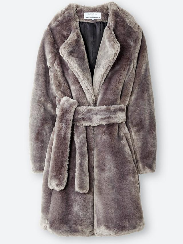 Louis Gabriel Nouchi x La Redoute Faux Fur Coat