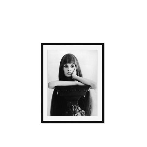 """British Model & Actress, Twiggy, Late 1960s"""
