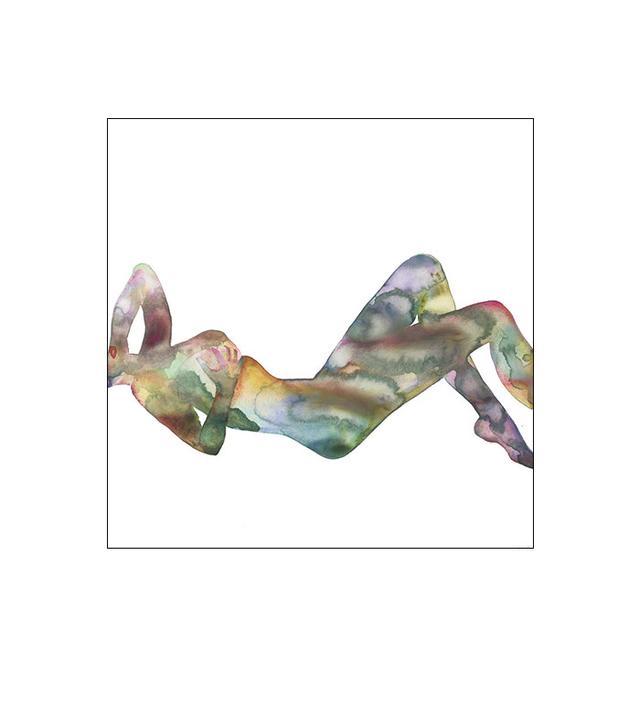 watercolor print