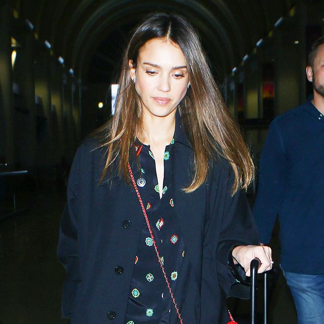 How to Wear Your Pajamas to the Airport Like a Celebrity