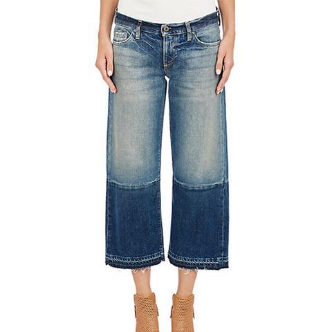 Crop Wide-Leg Jeans