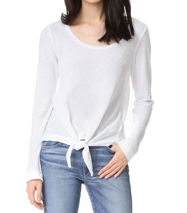 Splendid Heathered Thermal Shirt
