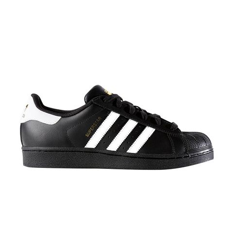 Black and White Superstar Trainers
